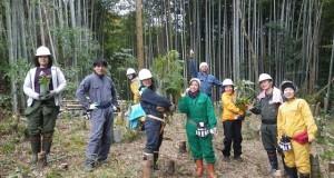 森づくり活動「里山つなぎ隊」