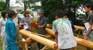 人材育成プログラム・自然学校講座森と暮らしのコース