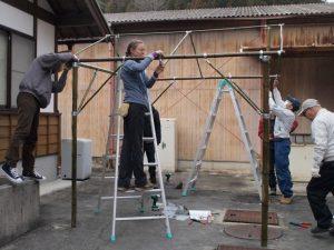 2月「竹テントマスター養成講座」を開催しました!:詳細ページを見る