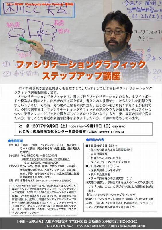 9/9-10「コミュニティワーカートレーニング」を募集中:詳細ページを見る