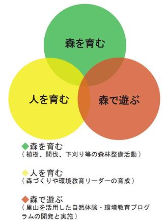 図表:活動の柱