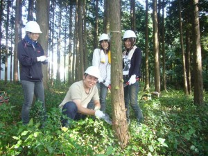 連合会新人向け・森の学校研修